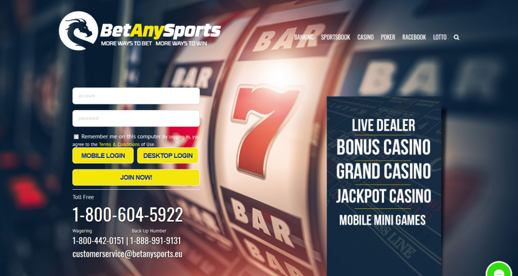 BetAnySports Review