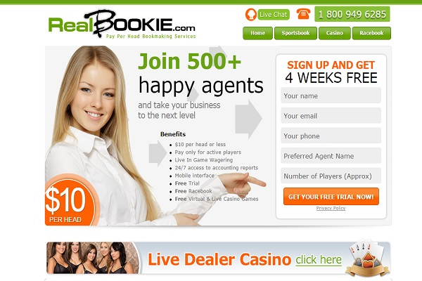 Real Bookie – Never Lose Another Client to an Offshore Sportsbook Ever