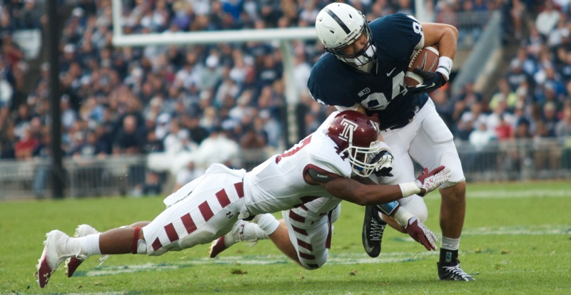 """College Football Betting — CJ:  """"Pitchers' Duel"""" Likely Between Temple and Penn State?"""