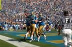 UCLA Athletics - 2010 UCLA Football versus the Washington State Cougars at the Rose Bowl, Pasadena, CA.  October 2nd, 2010  Copyright  Don Liebig/ASUCLA