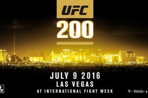 UFC 200 Card Set Again, With No McGregor