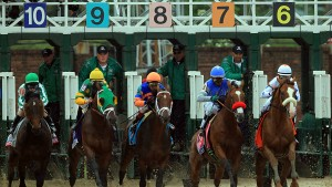 Time For Exaggerator Over Nyquist in Preakness?