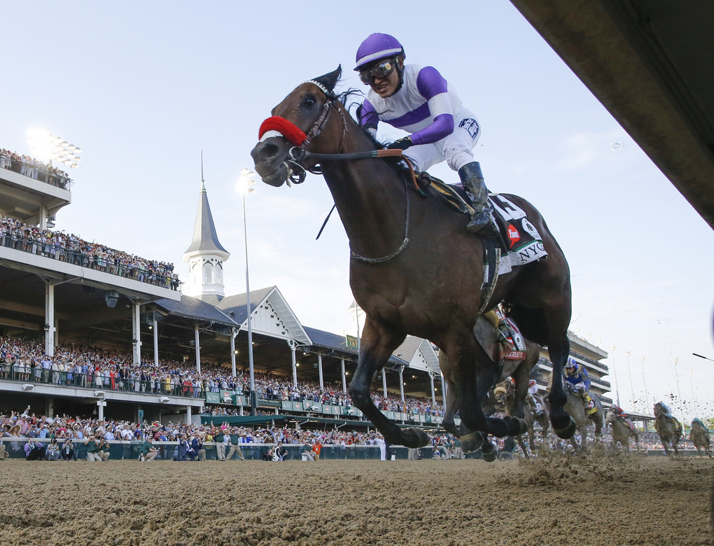 Nyquist's Strong Kentucky Derby Stamps Him Heavy Favorite in Preakness
