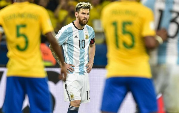 Argentina suddenly in big trouble in World Cup qualifying