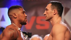 Boxing: Will Torch Be Passed to Joshua?