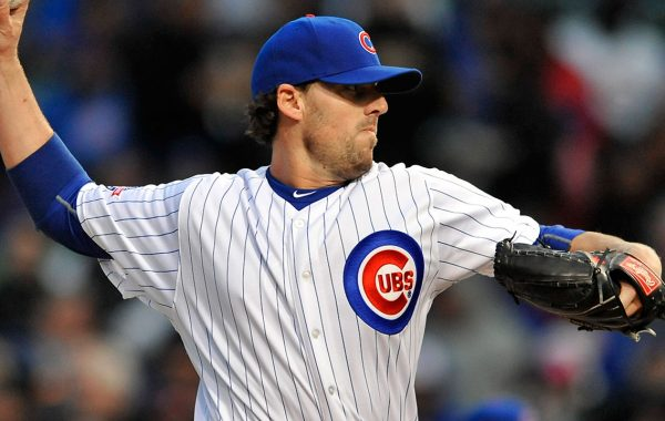 Lackey Takes Ball For Cubs vs. Dodgers