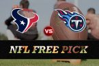 NFL Free Pick - Houston Texans vs. Tennessee Titans