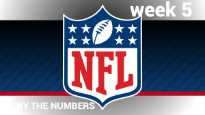 NFL Week 5 By the Numbers