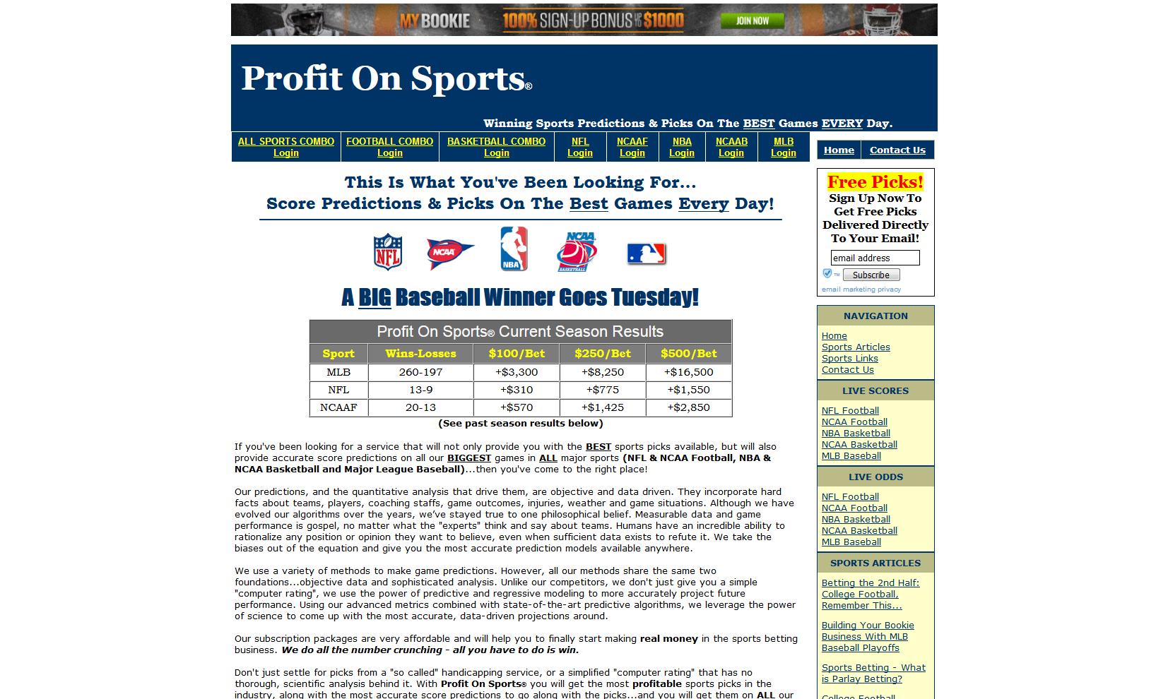 Profit On Sports