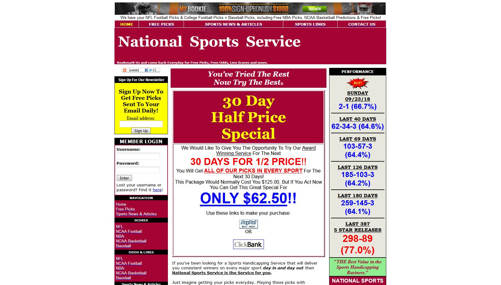 National Sports Service