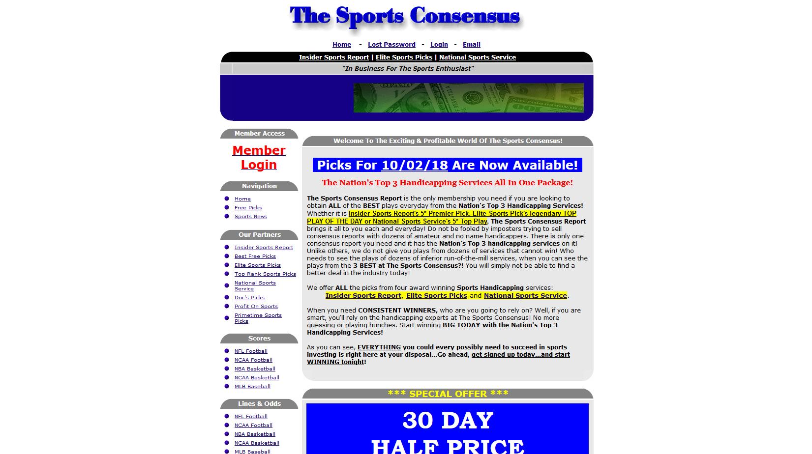 The Sports Consensus