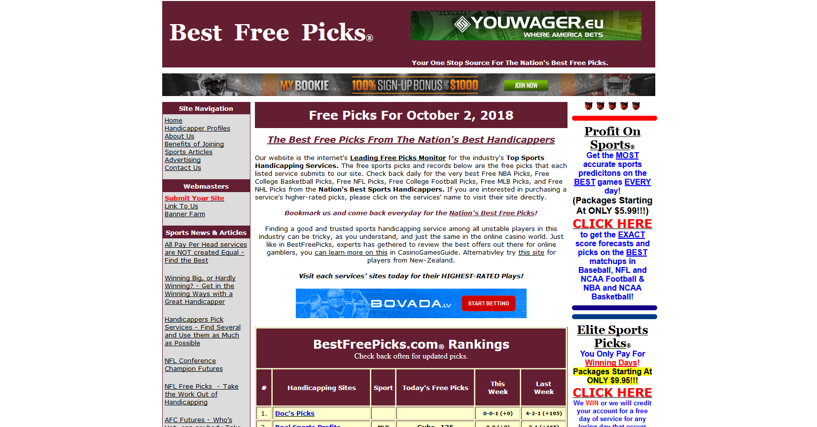Best Free Picks