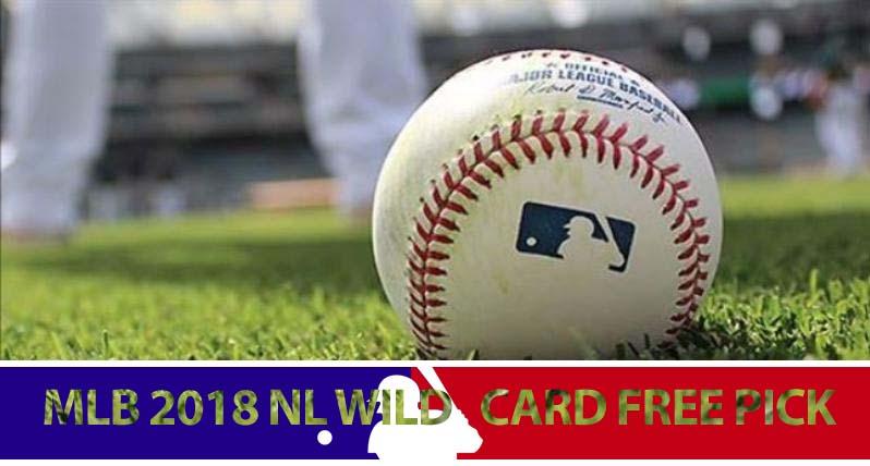 MLB 2018 NL Wild Card Free Pick