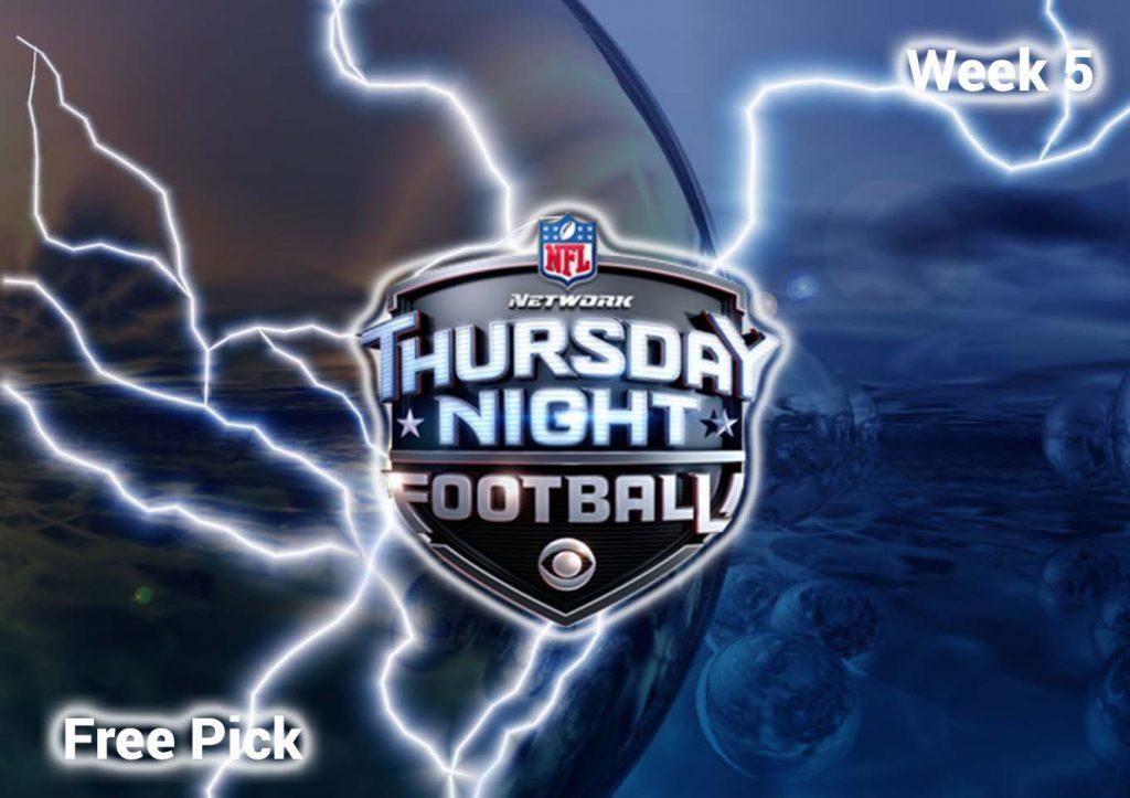 Thursday Night Football Free Pick | Week 5