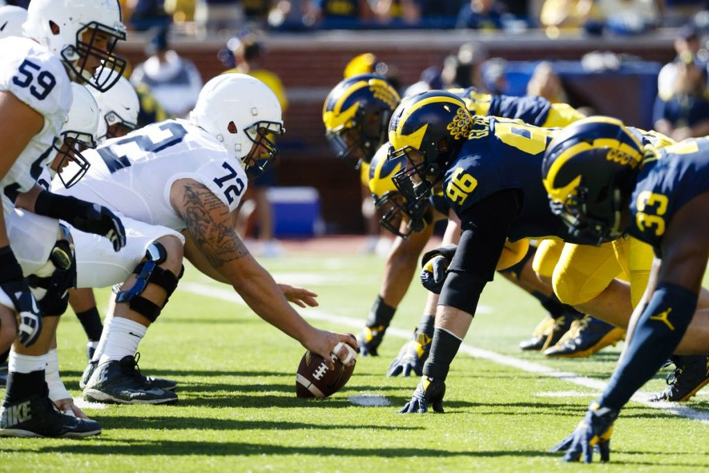 NCAAF Free Pick – Penn State @ Michigan