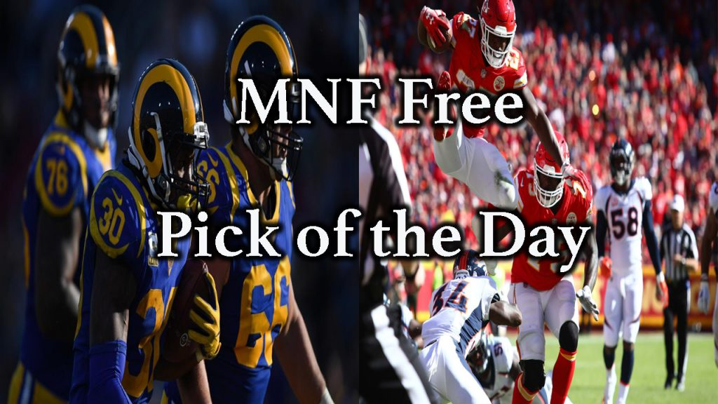 NFL MNF Free Pick | Chiefs at Rams