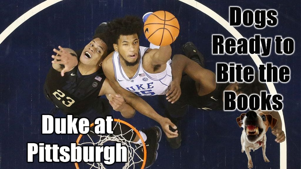 Dogs Ready to Bite the Books: Duke at Pittsburgh