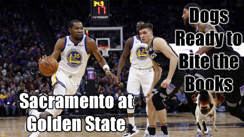 Dogs Ready to Bite the Books: Sacramento at Golden State