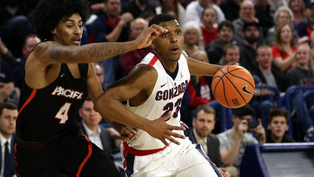 NCAAM Free Pick | Gonzaga at Pacific