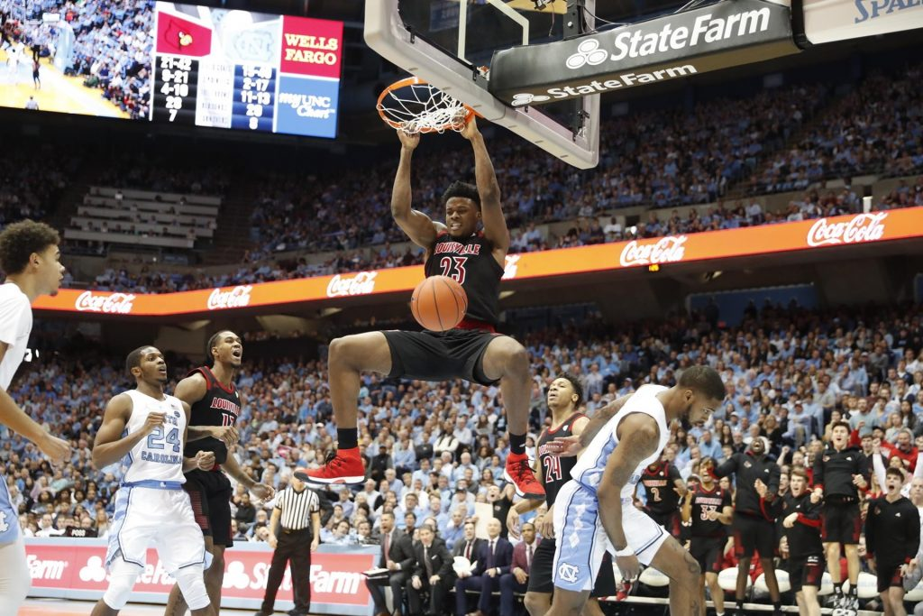 NCAAM Free Pick   North Carolina at Louisville