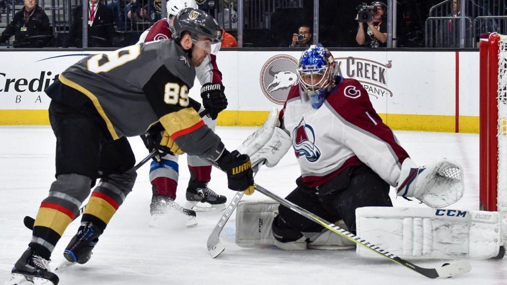 NHL Free Pick   Knights at Avalanche