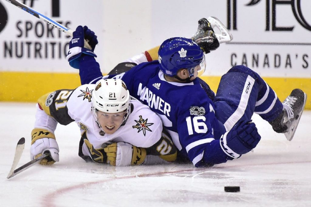 NHL Free Pick   Maple Leafs at Golden Knights