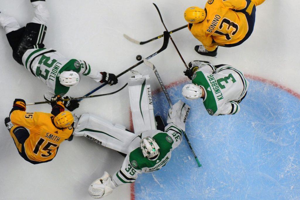 NHL Free Pick   Predators at Stars