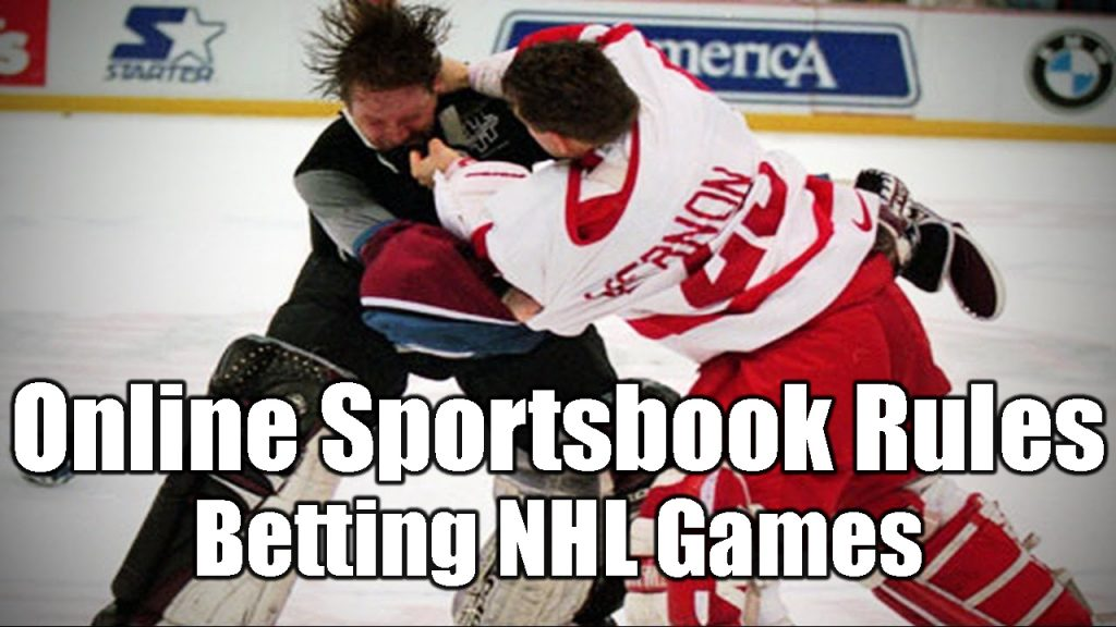 Online Sportsbook Rules | Betting NHL Games