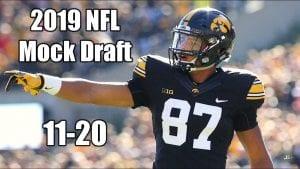 2019 NFL Mock Draft - 11-20