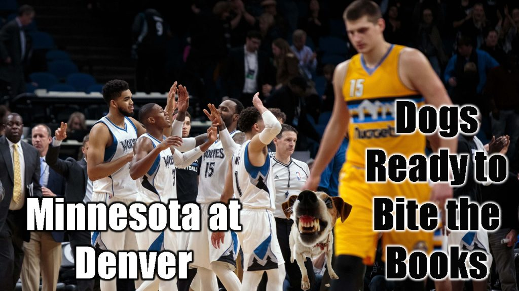 Dogs Ready to Bite the Books: Minnesota at Denver