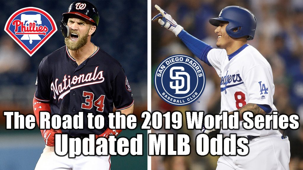 The Road to the 2019 World Series – Updated MLB Odds