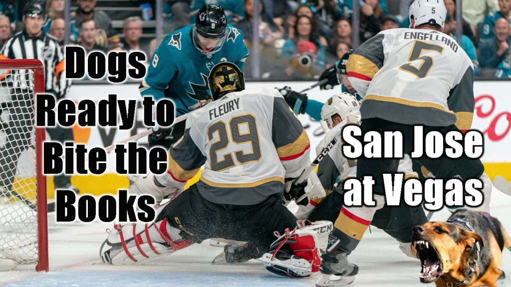 Dogs Ready to Bite the Books: San Jose at Vegas
