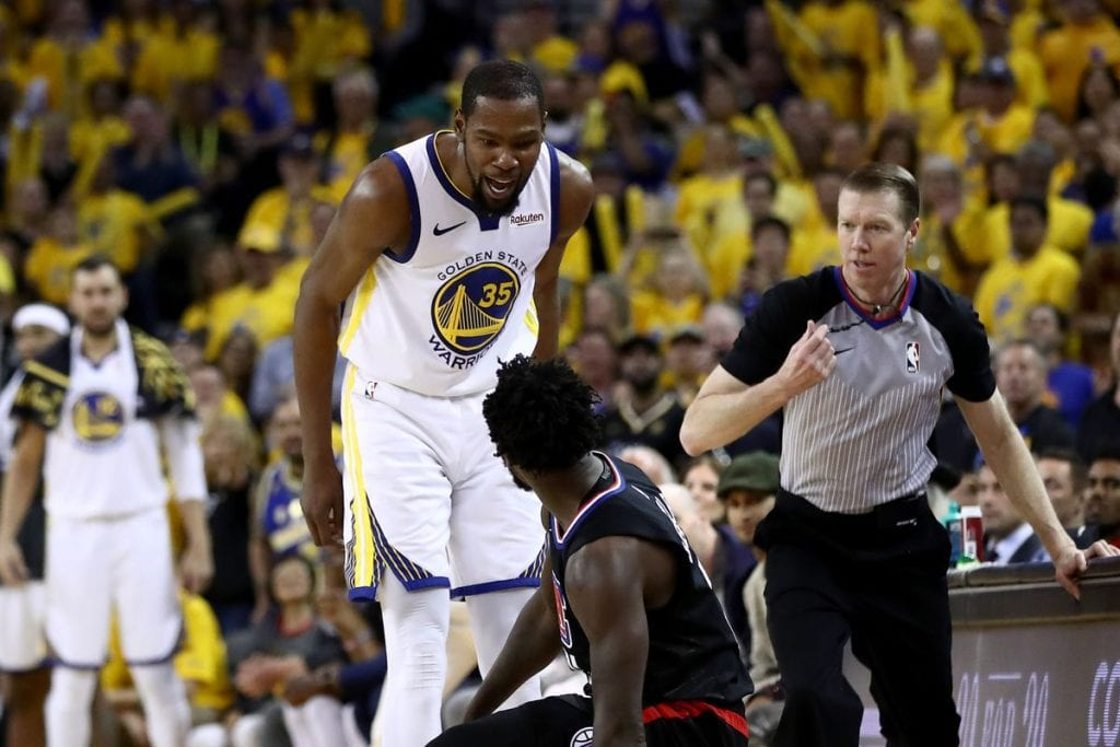 NBA Playoff Free Pick | Warriors at Clippers