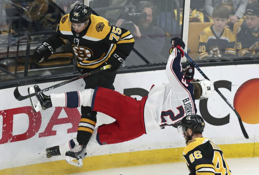 NHL Playoffs Free Pick | Bruins at Blue Jackets Game 3