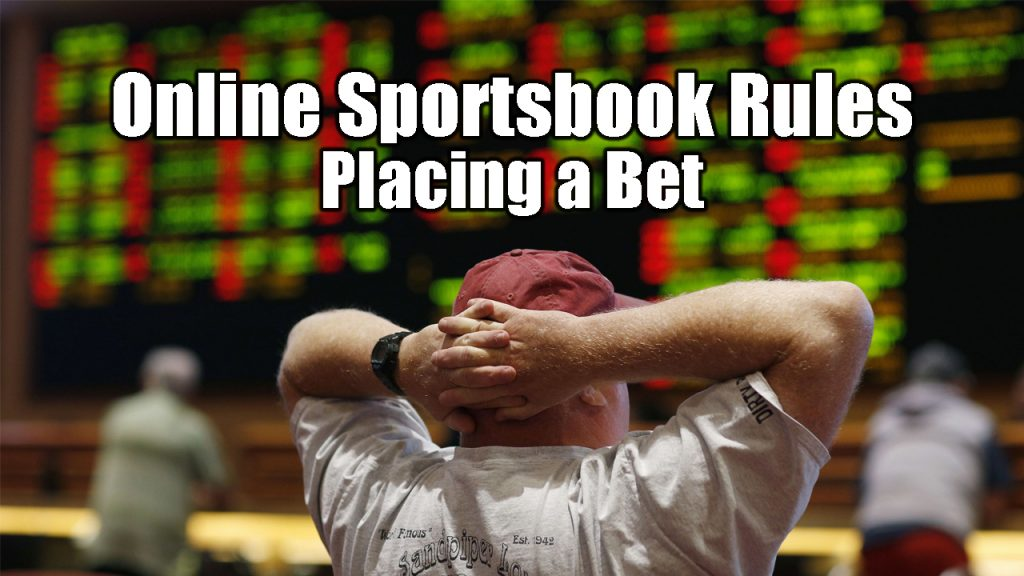 Online Sportsbook Rules | Placing a Bet
