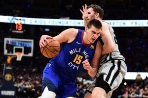 Nikola Jokic is Denver's all purpose threat