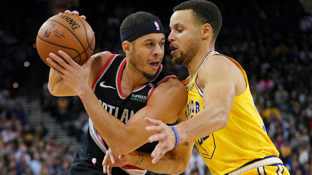 Dogs Ready to Bite the Books: Portland at Golden State Game 1