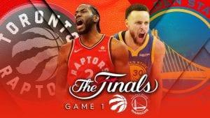 NBA Finals FREE Pick | Warriors @ Raptors Game 1