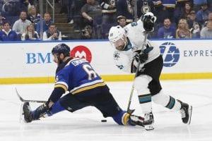 NHL Playoffs Free Pick   Sharks at Blues Game 4