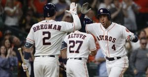 The Houston Astros are the favorite to win it all this year