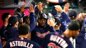 The Minnesota Twins lead the majors in runs scored