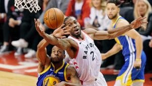 Dogs Ready to Bite the Books: Toronto at Golden State Game 3