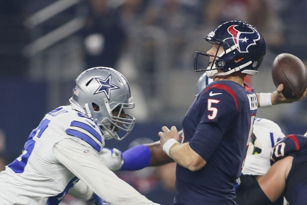 Dogs Bite the Books: NFL Preseason Week 3 Houston at Dallas