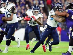 Titans stun Ravens in AFC Divisional Round