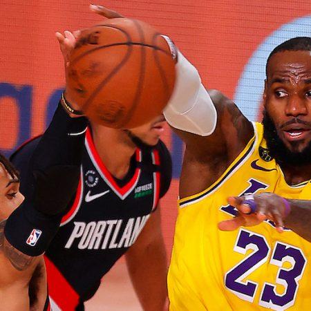 Lakers Trail Blazers Pick | Aug. 24, 2020