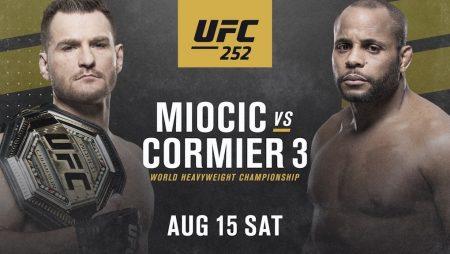 UFC 252 Free Pick | Cormier vs. Miocic 3 | Aug. 15, 2020