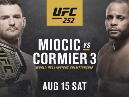 UFC 252 Free Pick | Cormier vs. Miocic 3 | Aug. 15, 2020