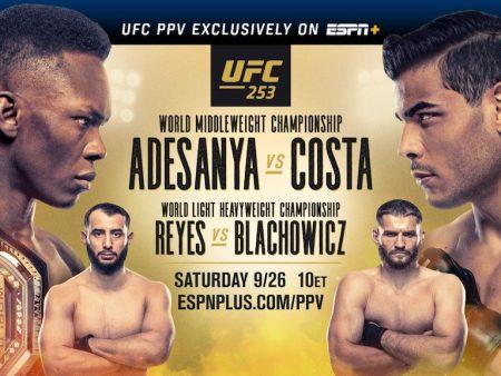UFC 253 Free Pick | Adesanya vs. Costa