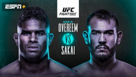 UFC on ESPN+ 34 | Overeem Sakai Pick