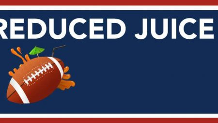 Betting NFL Reduced Juice Options